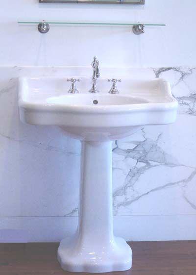 paris pedestal sink Powder Room inspiration Pinterest