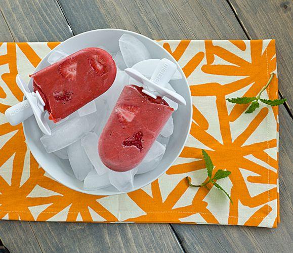 Strawberry Mojito Popsicles | Recipe