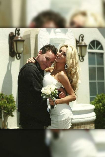 Courtney Stodden & Doug Hutchinson.... too creepy for words...