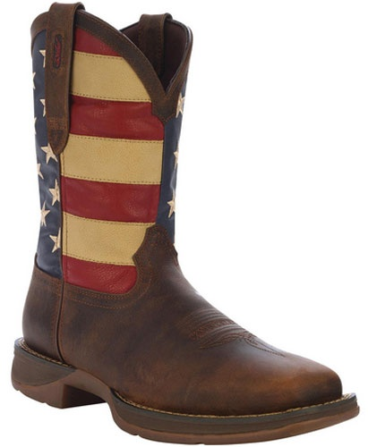 brands of handbags for women Durango Rebel 1234 Patriotic Boots  Red  White and Blue