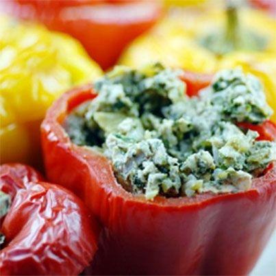 Stuffed Peppers | Fruits, Veggies & Salads | Pinterest