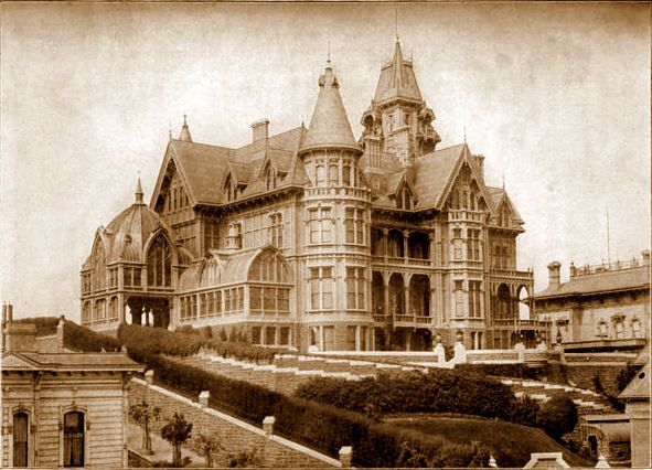 Mark Hopkins Mansion San Francisco Home Home On The