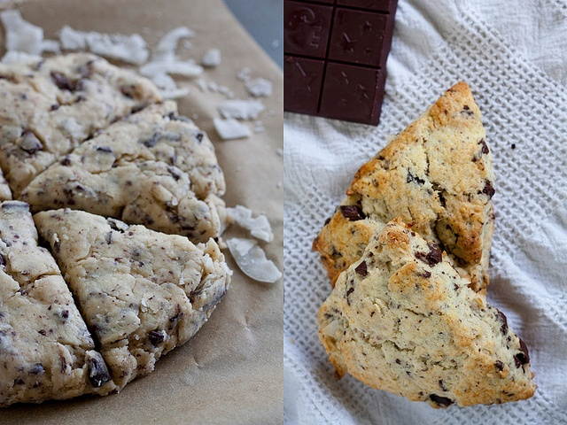 Chocolate Coconut Scones | Brunch | Pinterest