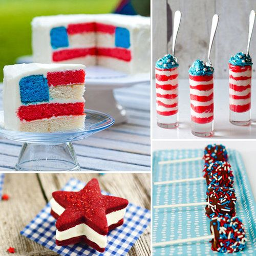 fun july 4th desserts