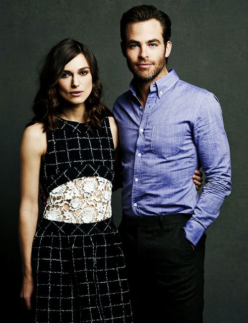 Chris Pine and Keira Knightley   Jack Ryan  Shadow Recruit   Love this    Chris Pine And Keira Knightley Interview