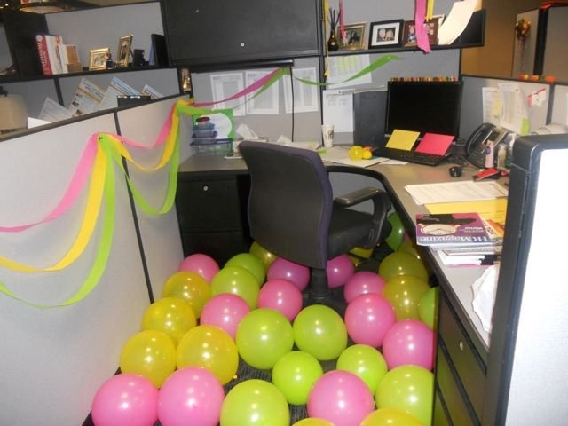 Another birthday prank at Ragan