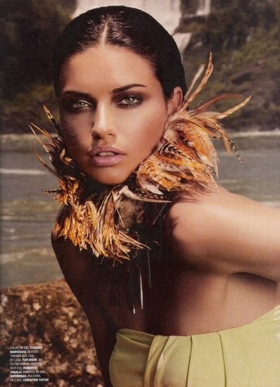 womens wallets Sizzle Factor 20 of Adriana Lima39s Sexiest Sultriest Editorials to