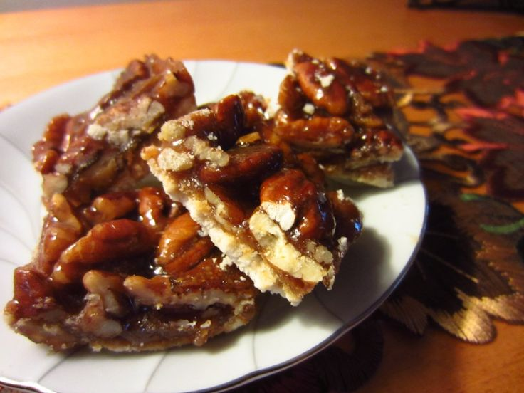 Caramel Pecan Squares | Something Sweet to Eat | Pinterest