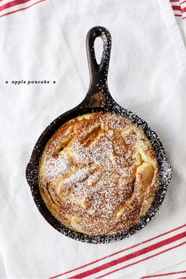Apple Pancake | Recipes to Try | Pinterest