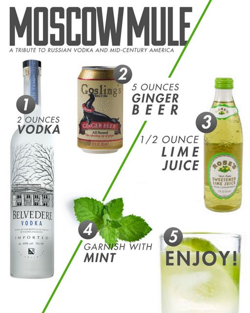 Moscow Mule  #lulugracevintage #belvedere vodka