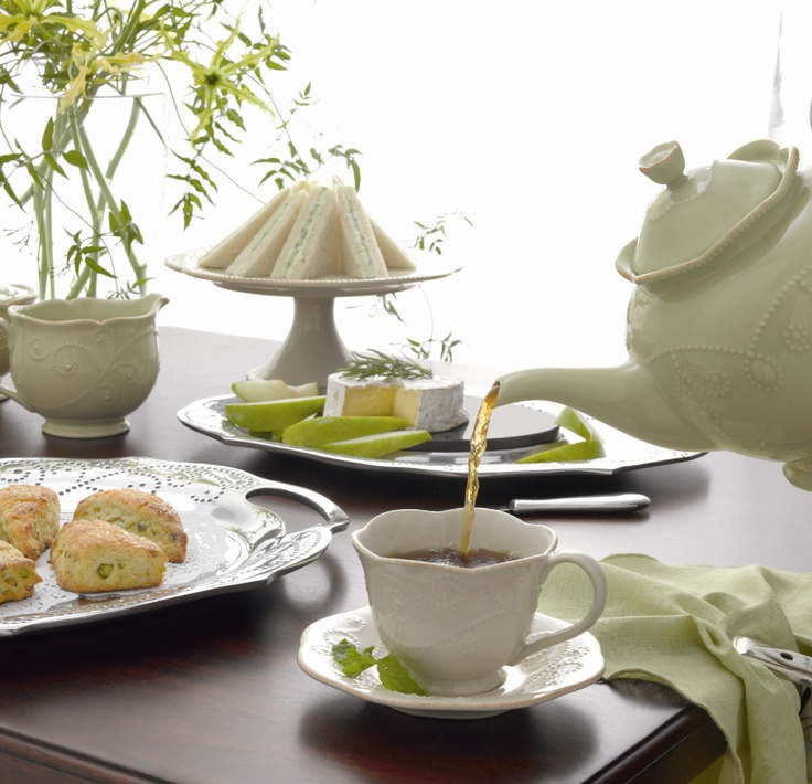 #Lenox® French Perle Pistachio 4-Piece Place Setting #dishes