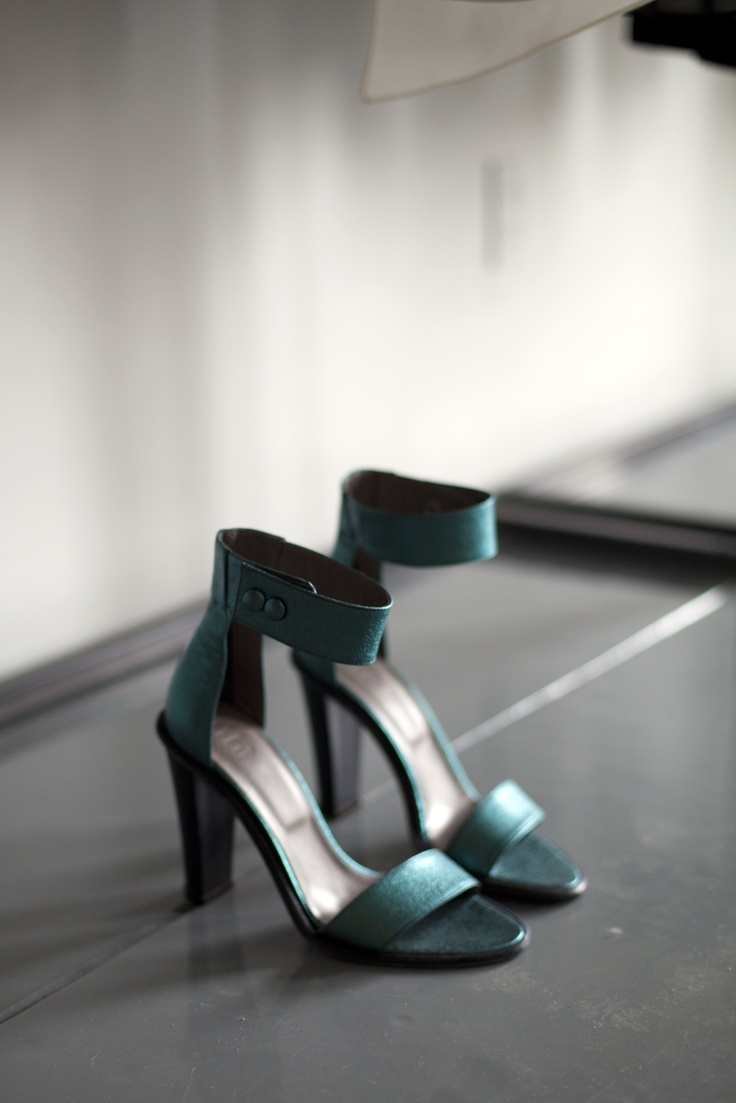Stunning Tibi shoes! Love the colour