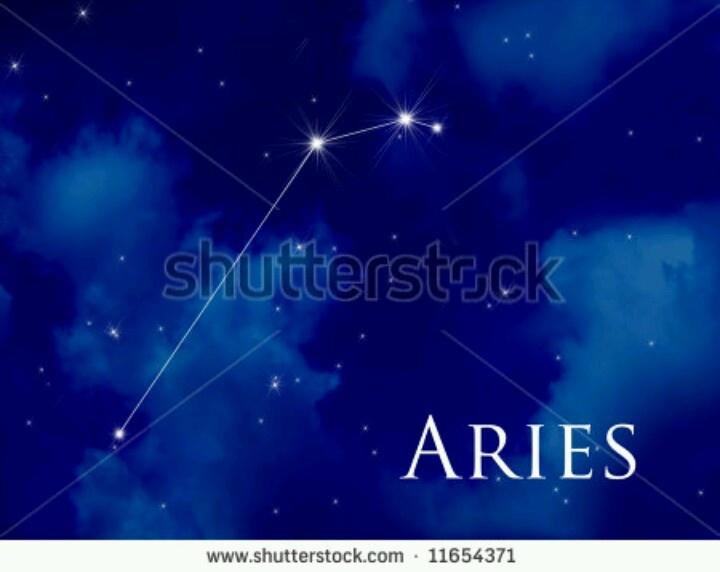 Constellation Aries Tattoo