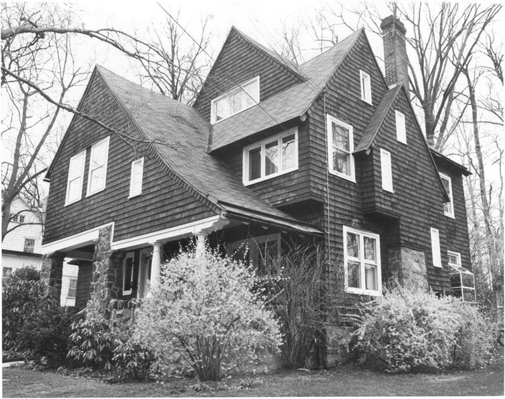 Shingle Style 1880 1900 Houses Victorian Pinterest