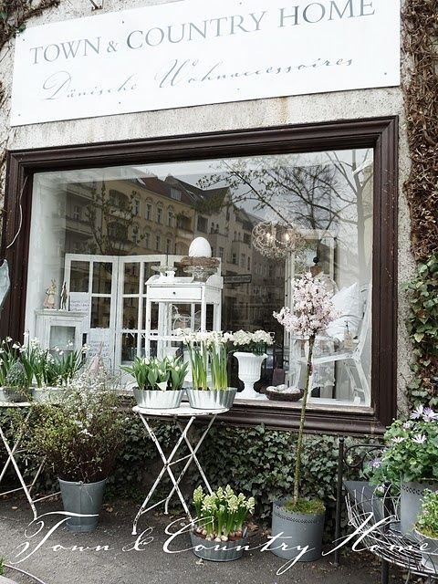 Store Front Windows Sidewalk Cafe 39 Shops Pinterest