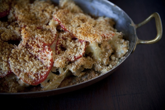 Rustic Cauliflower Bake - Dave loved this, I thought it was a little ...