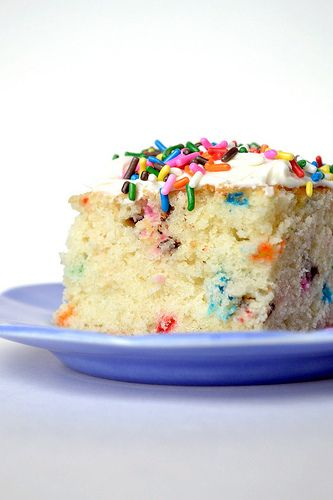 Funfetti Cake from Scratch « What Katie's Baking What Katie's Baking
