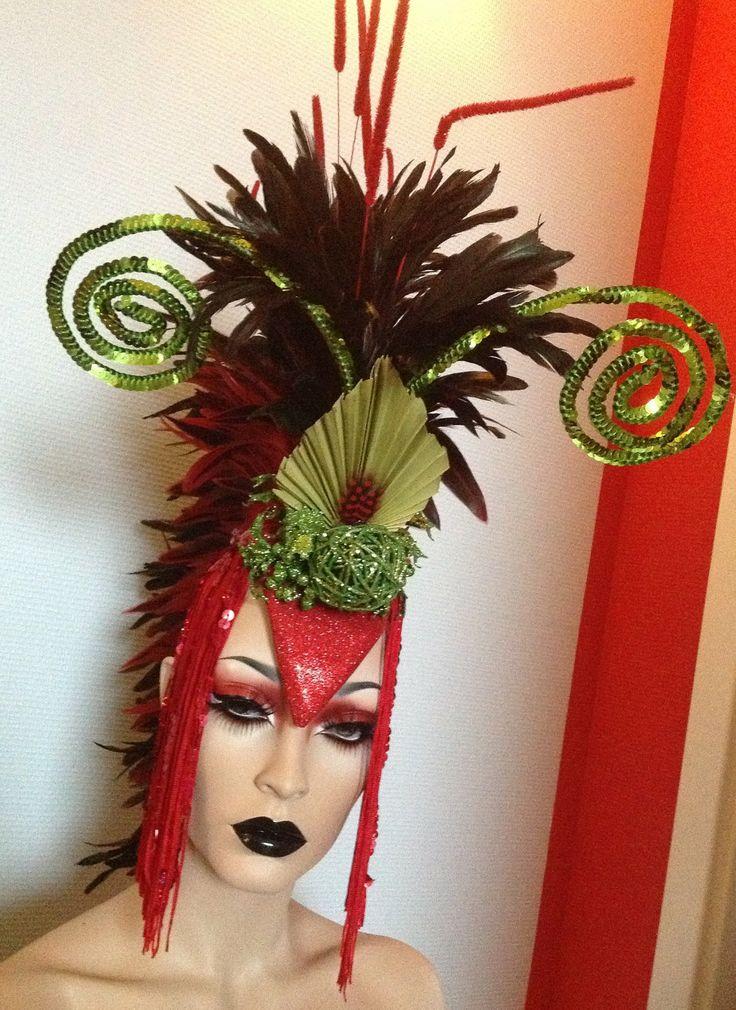 1920 s african style christmas headdress ho ho holidays pinterest