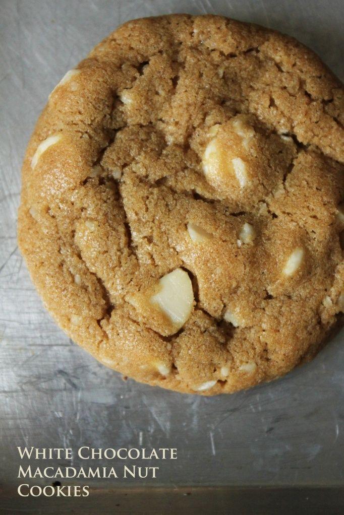White Chocolate Macadamia Nut Cookies | yummy! | Pinterest