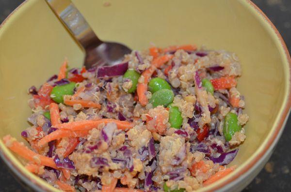 Thai-Style Quinoa Salad | Soups/Salads/Sandwiches | Pinterest