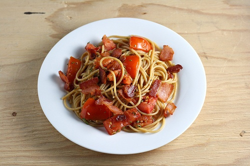 Pasta with Bacon, Rosemary, and Tomatoes | Pasta! Pasta!! Pasta ...