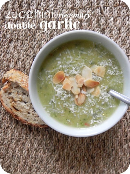 zucchini garlic rosemary soup mmm | food and drinks | Pinterest