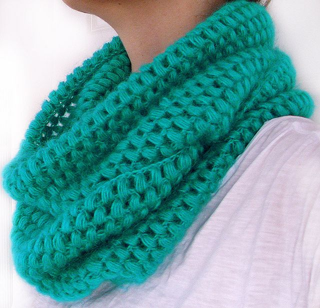 Crochet Stitches Video Puff : puff stitch cowl Tejidos Pinterest