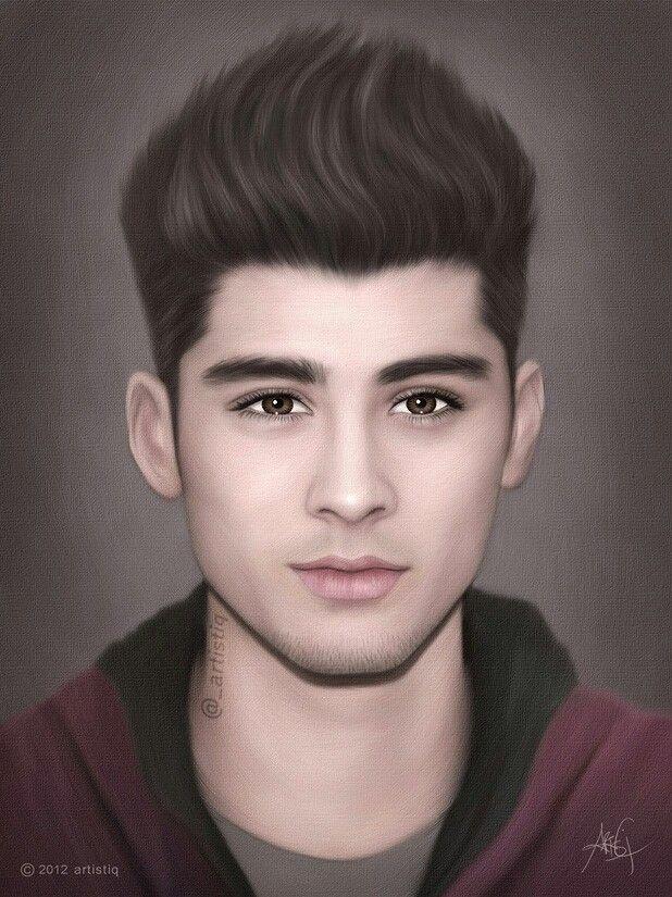 Zayn MalikZayn Malik Drawing Of Justin Bieber