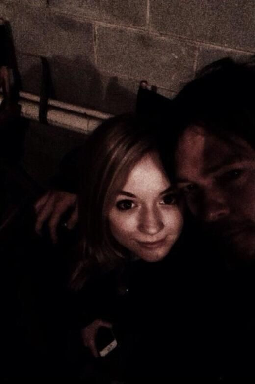 Norman reedus and emily kenney twd bds pinterest