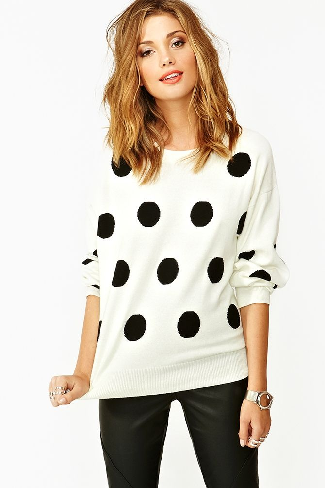 Just J: Mad for polka dots
