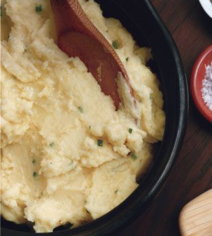Crème Fraîche and Chive Mashed Potatoes | Recipe