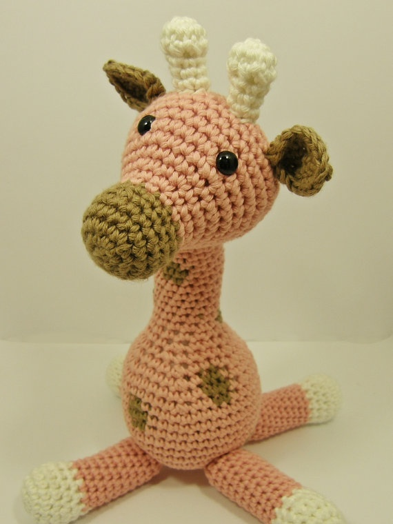 Amigurumi Pattern Crochet Giraffe pdf by ByMarika on Etsy ...