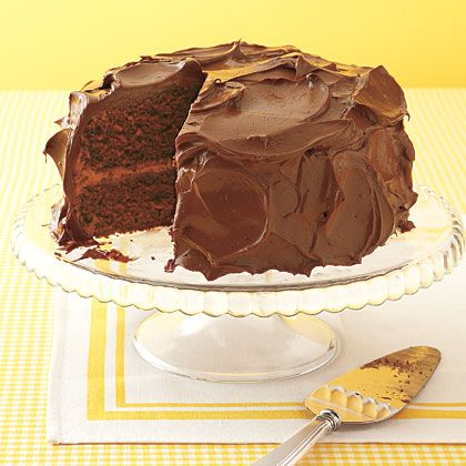 Devil's Food Cake As if this moist, rich chocolate layer cake wasn't ...