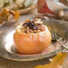 winter fruit dessert: Oatmeal-Brown Sugar Baked Apples (recipe)