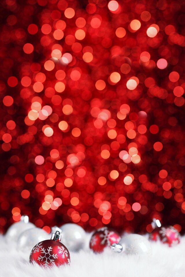 red christmas lights background - photo #28
