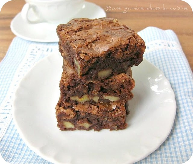 classic brownie | Food I Wanna Eat | Pinterest