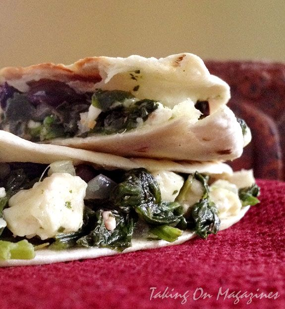 Spinach-and-Feta Quesadillas from All You's Summer Fun Special 2013 M ...