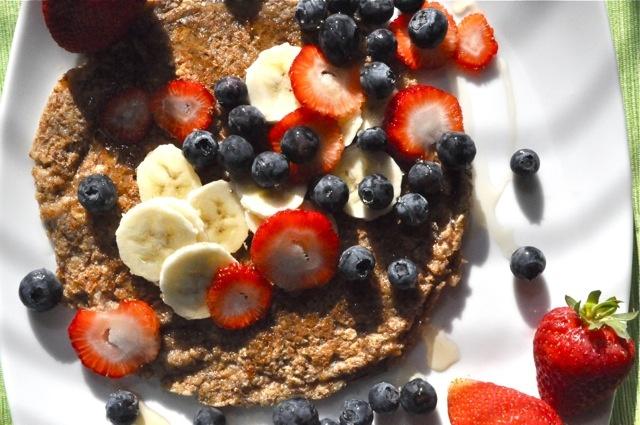 Vegan Buckwheat Pancake | Savory | Pinterest