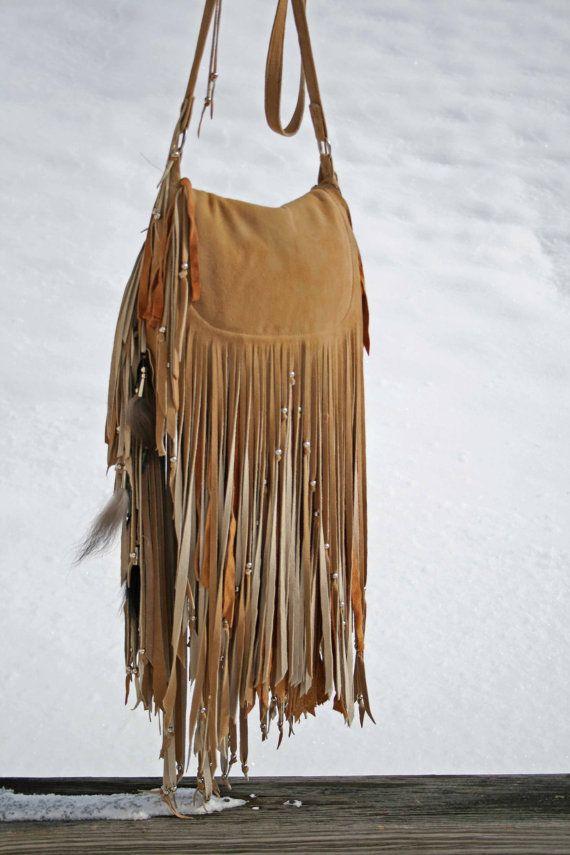 Ombre Fringe Bag — Crafthubs