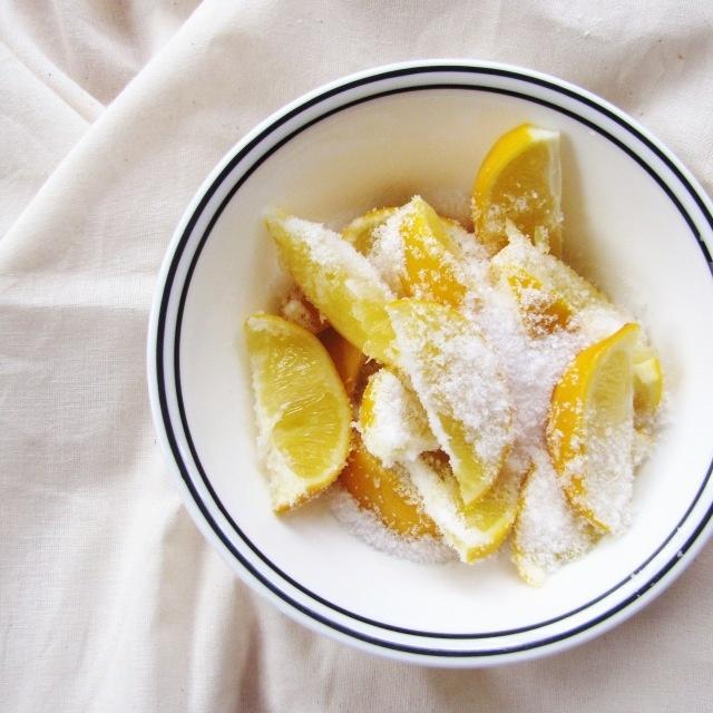 preserving meyer lemons