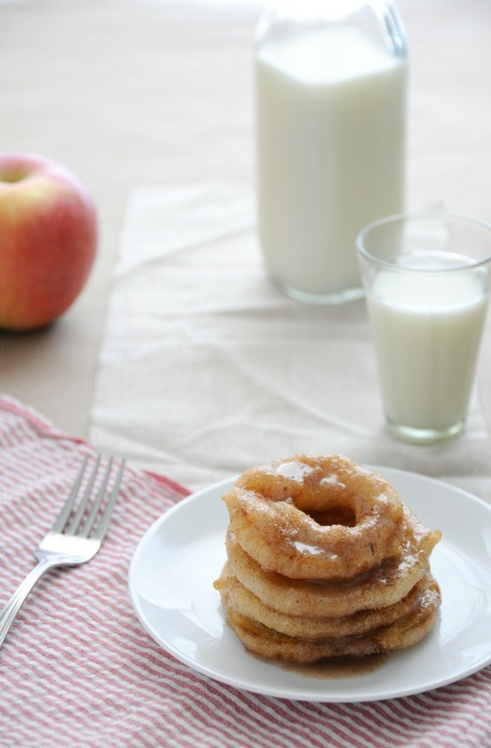 Gluten free Apple Ring Fritters. | Eat it | Pinterest