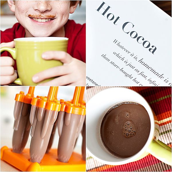 Hot Cocoa Popsicles