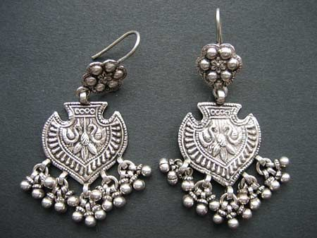 Silver earrings india online