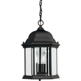 Black Outdoor Pendant Light ENERGY STAR  15H  105.