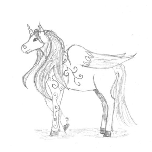Unicorn With Wings Coloring Pages - Baby Twilight Sparkle - 02 by ...