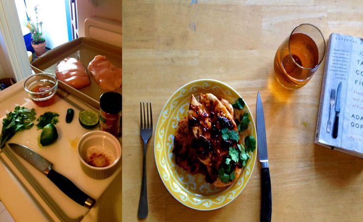 Sweet and Spicy Glazed Chicken - Yummy apricot jam/ jalapeno/ lime ...