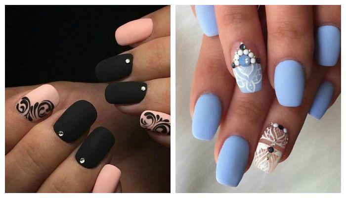 Дизайн ногтей i love you