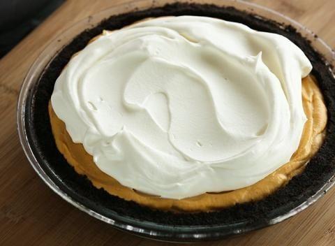 Pumpkin Mousse Ice Box Pie | Holidays | Pinterest