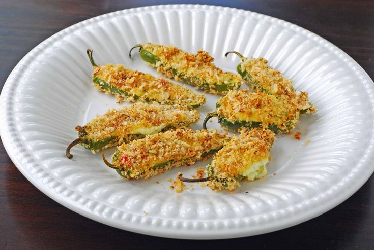 Skinny Baked Jalapeno Poppers | the HEALTHY choice | Pinterest