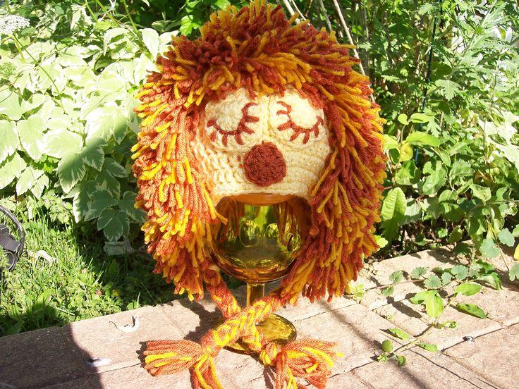 Free Crochet Pattern For Lion Hat : Crochet Lion Hat for babies free pattern Crocheting ...